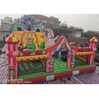 Wholesale Ferris Wheel Park Fun City Inflatables Custom Cartoon Kids  Playground Bouncer Combo from china suppliers