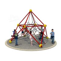 Wholesale Customized Color Kids Outdoor Playset Small Outdoor Climbing Frame EN1176 Approved from china suppliers
