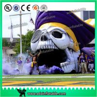Wholesale Giant Event Entrance Tunnel Inflatable Skeleton Skull Replica from china suppliers