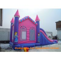 Wholesale Safety Waterproof Inflatable Jumpers , Inflatable Water Slide Bounce House Rental from china suppliers