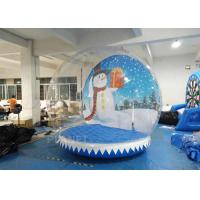 Quality Durable PVC Tarpaulin Outdoor Inflatable Snow Globe Customzied Logo for sale
