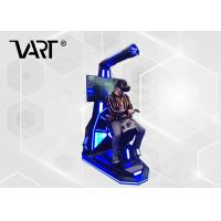 Wholesale Fiberglass Shell Horse Riding Exercise Machine / Virtual Reality Equipment with 4Pcs Games from china suppliers