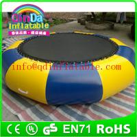 Wholesale inflatable water trampoline for sale, inflatable trampoline on water Trampoline for kids from china suppliers