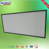 China Mini Pleat Ultra ULPA Air Filter Fiberglass for Electronic And Clean Room on sale