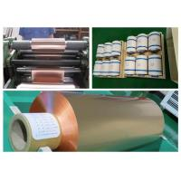 Quality Soft Annealed Rolled Copper Foil For Conductive Tape Thickness 0.02mm for sale