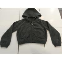 China Little Boys Black Hoodie Sweater For Winter / Autumn Fashionable Design on sale