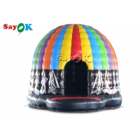Wholesale 5x4x3.5mH Led Inflatable Disco Dome Tent For Music Dance Party Event from china suppliers