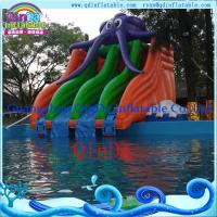 Quality New Inflatable Water Slide for Water Park  PVC Inflatable Slide for Pool, Water Park Used for sale