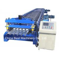 Wholesale 688 Floor Deck Roll Forming Machine Floor Tile Material Making Machine from china suppliers