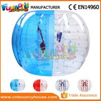 Wholesale Transparent Inflatable Bubble Ball / Inflatable Zorb Ball Large Hot Air Welded from china suppliers