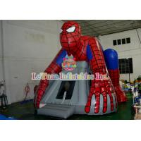 Wholesale Spiderman Inflatable Bouncer Jumping / Blow Up Bounce House For Children Play from china suppliers