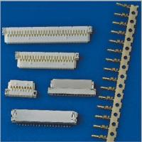 Quality nicked-plated shell 0.039 inch pitch PA66 material crimp type DF19 wire to board for sale