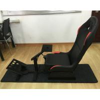 Buy cheap Adjustable Folding Racing Simulator Seat With Support of Steering Wheel+Pedal+Sh from wholesalers