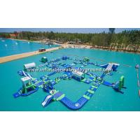 Wholesale Giant Lake Inflatable Water Park Rentals , Inflatable Water Sports Equipment from china suppliers