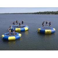 Wholesale Inflatable water trampoline float inflatable floating water trampoline from china suppliers
