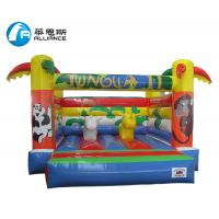 Wholesale Outdoor PVC Inflatable Jungle Castle Jumping Bouncer Lead Free Double Stitching from china suppliers