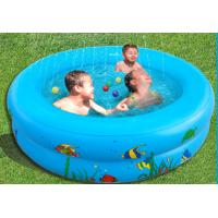 China OEM Kids inflatable swimming pool above ground , backyard inflatable pools on sale