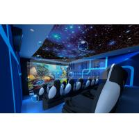 Wholesale Motion Rides 5D Movie Theater Equipment 1 Seat 2 Seats 3 Seats With Electric System from china suppliers