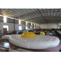China Cute Egg Design Inflatable Water Games Inflatable Safety Mat 9.7 X 5.2m 0.65mm Pvc Tarpaulin on sale