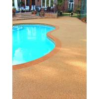 Wholesale EPDM Pool Rubber Flooring , Outdoor Rubber Surfacing For Pools And Patios from china suppliers