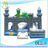 Wholesale Hansel New design large giant commercial rental use inflatable obstacle bouncer from china suppliers