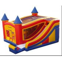 Wholesale 2012 hot inflatable combo/inflatable bouncy castle with slide from china suppliers