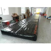 Wholesale Black 18mL x 2mW Inflatable Air Track , Inflatable Tumbling Track For Gym from china suppliers
