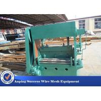 China Sheet Mesh Expanded Metal Machine Equipment For Steel Sheet Electric System on sale
