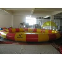 Wholesale Custom Outdoor 0.6mm PVC Tarpaulin Durable Inflatable Water Swimming Pool YHWP-008 from china suppliers