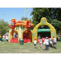 Wholesale Colorful display advertising inflatables booth Kiosks for outside exhibition from china suppliers