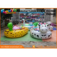 Wholesale Cartoon Shape Animal Motored Inflatable Boat Toys , Adult Electric Bumper Boat from china suppliers