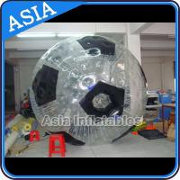 Wholesale Football Shape Inflatable Zorb Ball , Zorbing Ball Used On The Sea from china suppliers