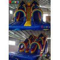 Wholesale Inflatable rainbow water slide, inflatable water part slide,Inflatable slide Game from china suppliers