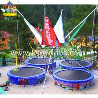 Wholesale 4 in 1 bungee trampoline/bungee trampoline 4 persons from china suppliers