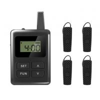 Wholesale Digital Wireless Audio Tour Guide Equipment With Ear - Hook Mini Receiver from china suppliers