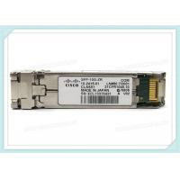 Wholesale Cisco SFP-10G-ZR  10GBASE-ZR SFP+ 1550nm 80km Transceiver Module from china suppliers