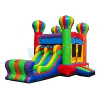 Quality Balloon Bounce House Commercial Inflatable Slide Combo 1 Year Warranty for sale