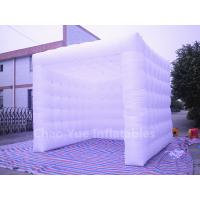 Wholesale White Oxford Cloth Inflatable Cube Tent for sale from china suppliers
