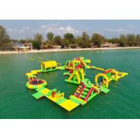 Wholesale 0.9mm Pvc Tarpaulin Giant Inflatable Water Park Playground Game Toys from china suppliers
