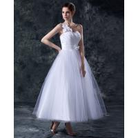 Wholesale Elegant Heart Shaped tea length wedding dresses gowns in S M L XL XXL size from china suppliers