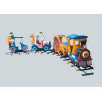Amusement Park Train Rides , Battery Powered Ride On Train With Track For Toddlers