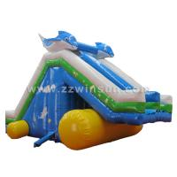 Wholesale kids and adults cheap active hippo inflatable big water slides for sale from china suppliers