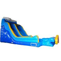 Giant Blow Up Water Slide / Children'S Inflatable Slides Easy Storage