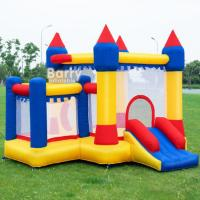 Wholesale EN71 Inflatable Bounce For Backyard Kids Funny Time Jumping Castle With 0.55mm PVC from china suppliers
