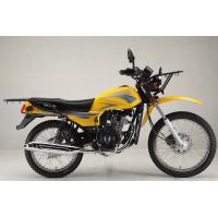China 150 CC Dirt Street Motorcycle Single Cylinder 4 Stroke Gas / Diesel Fuel on sale