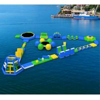 China inflatable water games, floating water park Aqua Water Parks Inflatable Aqua Water Parks on sale