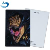 Wholesale Customized 3D Lenticular Postcard For Holiday Decoration Gift CMYK Printing from china suppliers