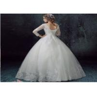 Quality Ladies Wedding Party Dresses V-neck in Soft ChiffonElegant Style for sale