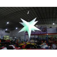 Wholesale Inflatable star with LED light Oxford material inflatable advertising products inflatable customized adverting products from china suppliers