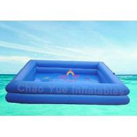 Wholesale Blue color 7 x 6 meter PVC tarpaulin Swimming Inflatable Water Pools for zorb ball from china suppliers